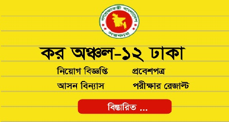 Tax Zone job Circular Result
